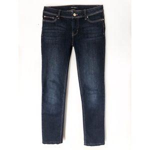 White House Black Market Jeans - WHITE HOUSE BLACK MARKET SLIM LEG JEANS SZ 0S